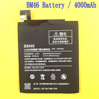 4000mAh New Original High Quality BM46 BM 46 Battery Xiaomi Hongmi Redmi Note 3 Xiao Mi