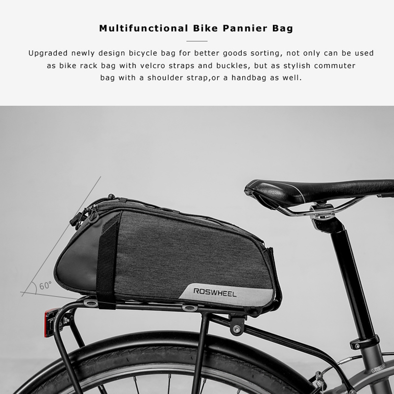 Roswheel Mountain Road Bike Bicycle Bags Cycling Rear Seat Saddle Bag Rainproof