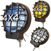 2Pcs 55W Offroad Fog Light Lamp Halogen H3 Bulb 4x4 Spotlights Lights Work Driving Head Lights