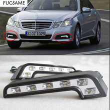 цены на Hot-Selling Free Shipping 12W LED Universal DRL LED Light ABS Daytime Running Lights Car Day Running lamp  в интернет-магазинах
