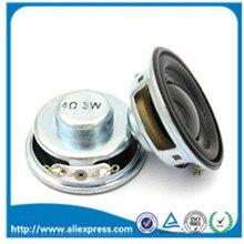 2 шт./лот высокое качество динамик Рог 3 Вт 4R диаметр 4 см мини усилитель резиновая прокладка Громкий Динамик Труба