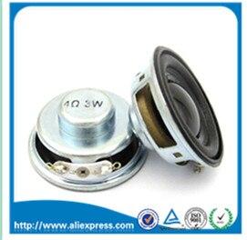 2PCS/Lot High Quality Speaker Horn 3W 4R Diameter 4CM Mini Amplifier Rubber Gasket Loudspeaker Trumpet