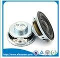 Высококачественный звуковой сигнал 2 шт./лот, 3 Вт, 4R, диаметр 4 см, мини-усилитель, резиновая прокладка, громкоговоритель, труба