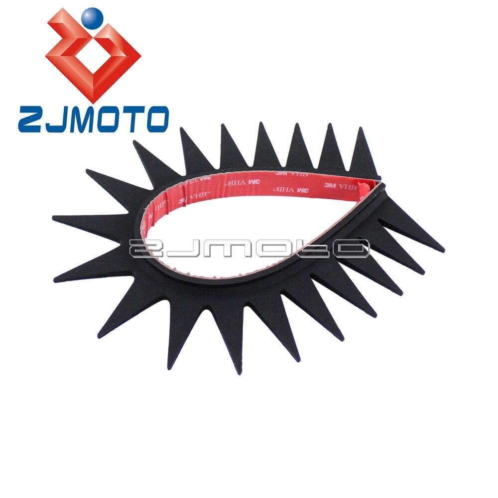 Us 735 8 Off1 X Motorcycle Dirtbike Ski Helmet Rubber Sticker Mohawk Racing Helmet Spikes Decal Warhawk In Decals Stickers From Automobiles