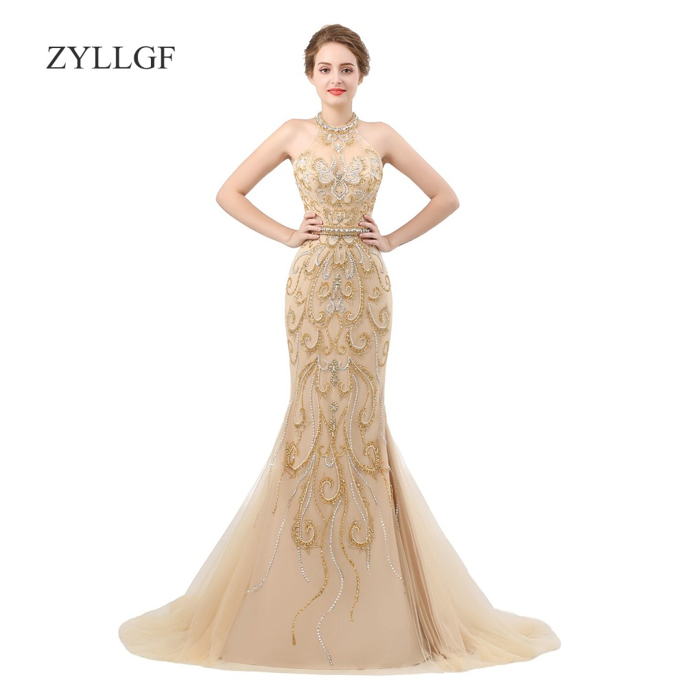 Evening Dresses Qualified Zyllgf Arabic Red Lace Evening Dresses 2019 Aibye Muslim Luxury Formal Tulle Long Party Dress Turkish Prom Kaftans Gowns Mc20 In Many Styles