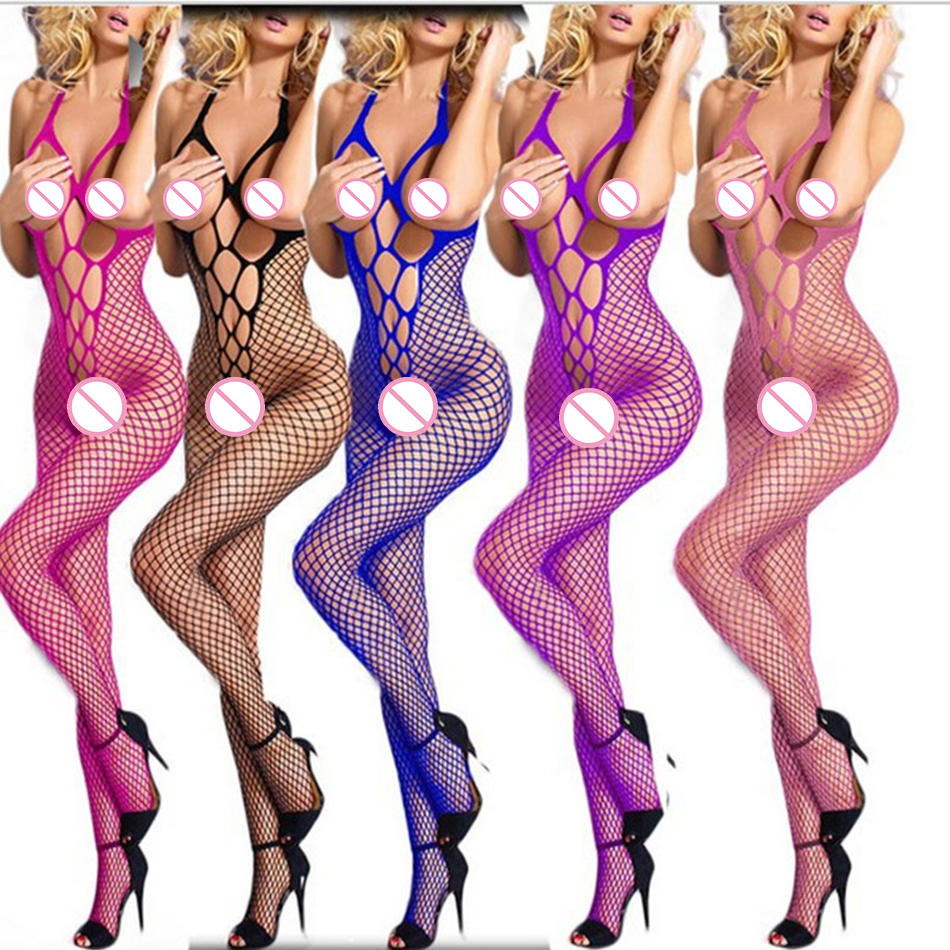 Women's Sexy Lingerie Hot Body Sexy Stocking Dress Underwear Stocking Sex Products Gridding Erotic Lingerie Sex Toys Lingerie
