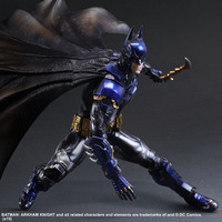 NEW hot ! 28cm Justice league Super hero batman Arkham Knight Blue limited edition action figure toys doll Christmas gift