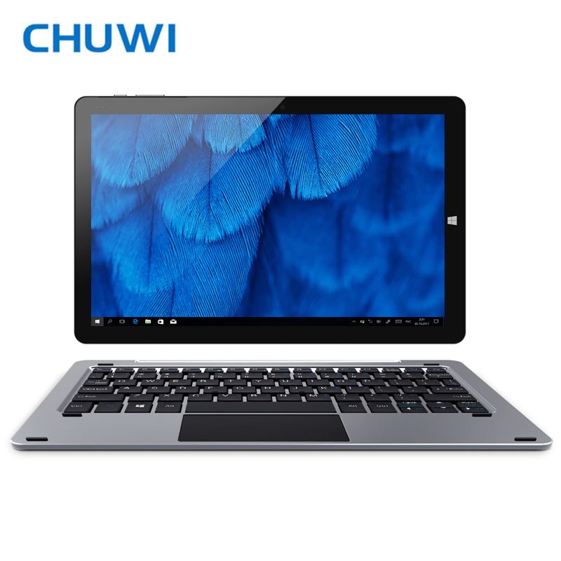 Original CHUWI Hi12 Tablet PC Dual Intel Atom Z8350 Quad Core Windows10 Android 5.1 4GB RAM 64GB ROM 12 inch 2160*1440