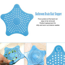 1Pc Bathroom Shower Kitchen Drain Sink Strainer Filter Cover waste stopper Floor drain strainer prevent clogging