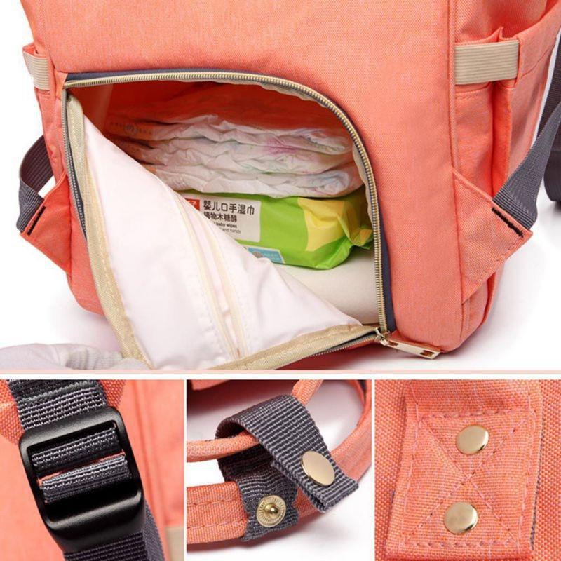 Sobababy Mummy Maternity Diaper Bag Large Capacity Travel Baby Backpack Designer Nursing Bag For Baby Care Diaper Bag 4
