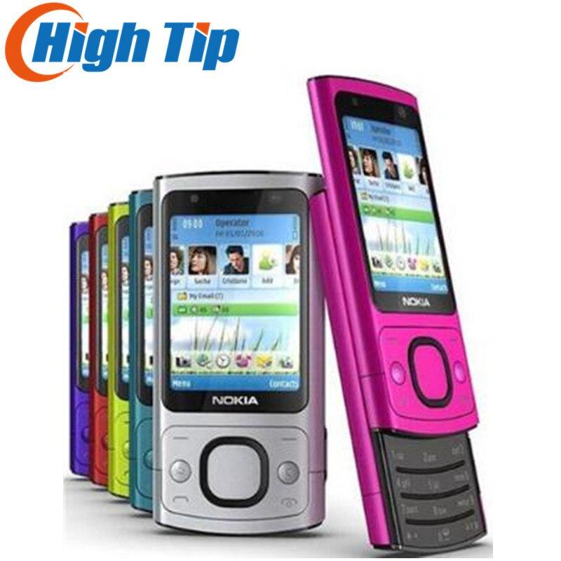 100% D'origine Nokia marque débloqué 6700 s téléphone, 3G, 5MP camra, Quad-Bande téléphone portable, rapide livraison gratuite Rénové