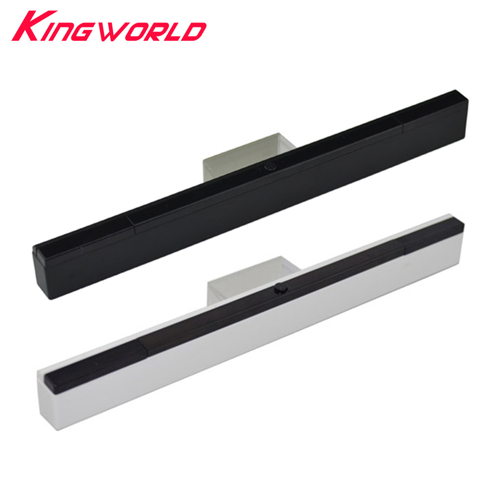 Wireless Remote Infrared Sensor Bar Inductor With Stand For Wii Controller Console