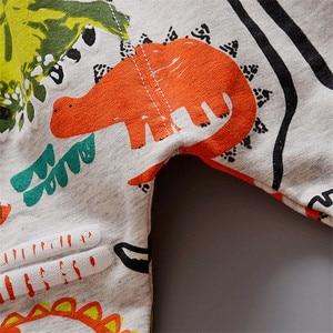 Image 4 - เด็กเสื้อผ้าเด็กชุดเด็กชุดคุณภาพสูงการ์ตูนฤดูใบไม้ผลิฤดูใบไม้ร่วงCoat + เสื้อ + กางเกงชุดเสื้อผ้าเด็กชุด 1 4Y