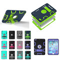 Stand Case for Apple ipad mini 1 / 2 / 3 full protector colorful back case silicon + plastic  shell Cover For mini2 mini3