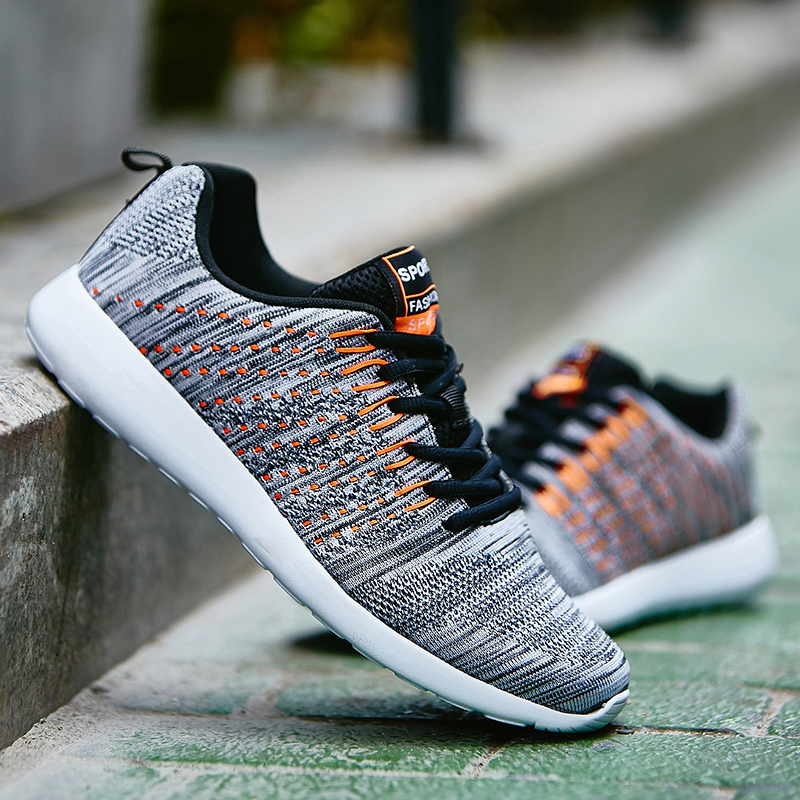 Men Sneakers Breathable Comfortable Size 39-47 Lace-Up Cheap Running Shoes For  Men Women Spring Autumn Outdoor Walking Shoes