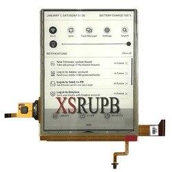 6 Pantalla táctil carta 2 ED060XH7 con retroiluminación lcd para Pocketbook touch Lux 3 PB626 (2)-D-WW LCD envío gratis