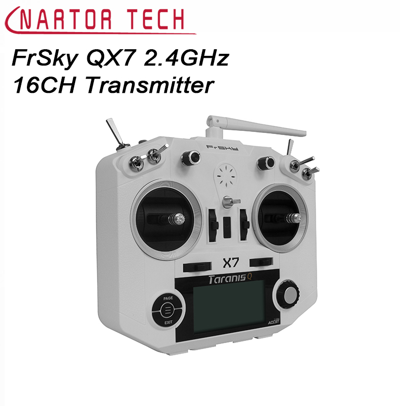 FrSky ACCST Taranis QX7 2 4GHz 16CH Transmitter Mode 1 Mode 2 For RC Model Free