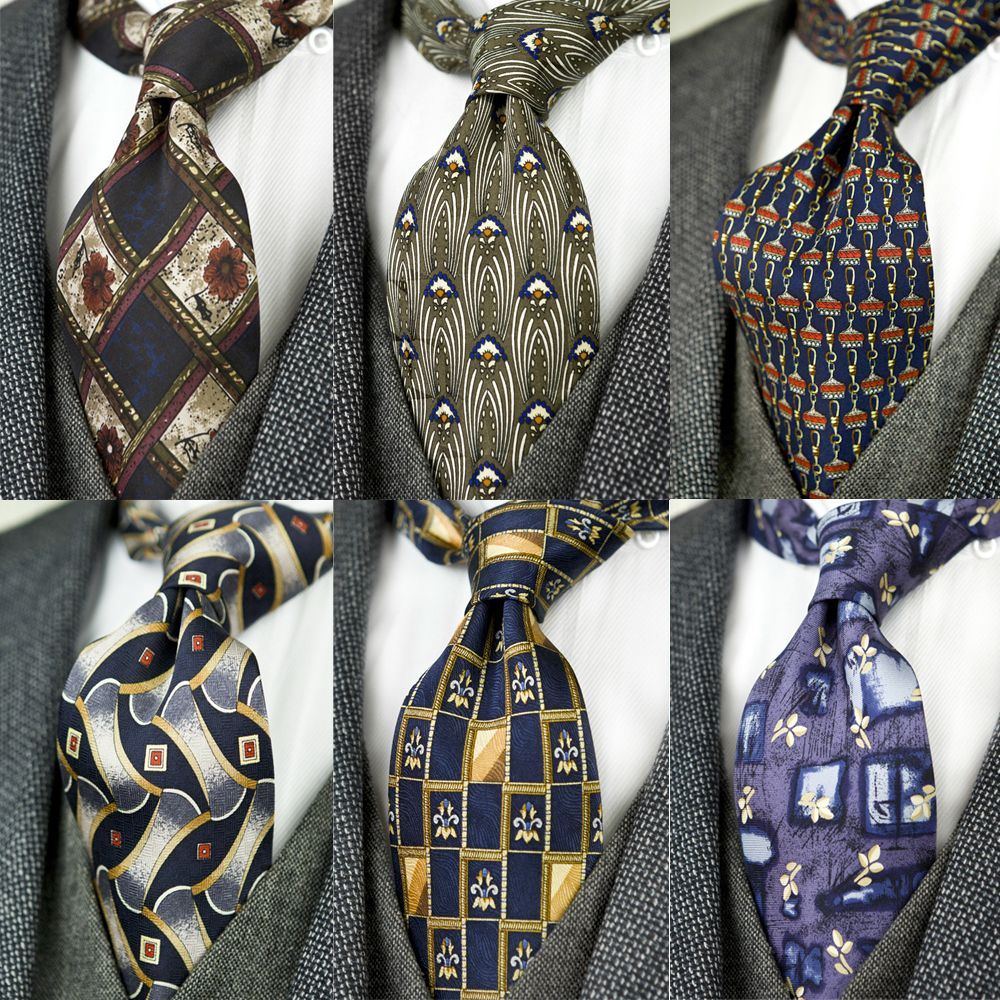 Printed Ties Unusual Pattern Abstract Multicolor 100% Silk Printing 10cm Fashion Brand New Casual Formal Party Free Shipping