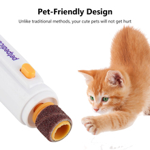 WITUSE Portable Pet Dog Cat Nail Trimmer Grooming Tool Claw Care Electric Grinder Clipper Kit Pet electric nail repair scissors