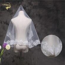 150 Wholesale Wedding Accessorie Soft Tulle New Arrival White Veil Fingertip Fingertip