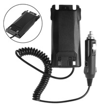 BGEKTOTH Car Charger Battery Eliminator Adapter For Baofeng UV-82 Radio Walkie Talkie(China)