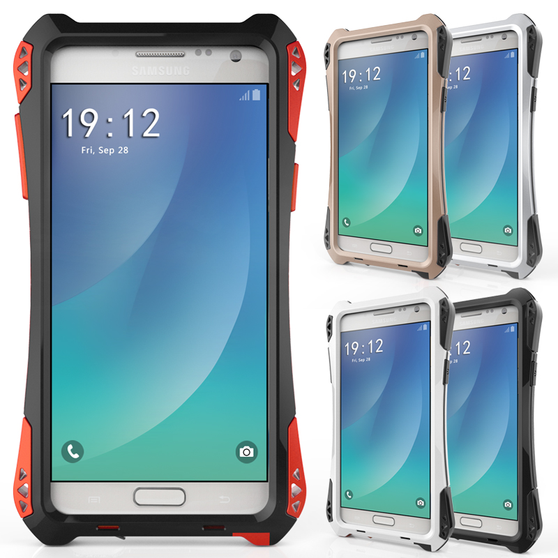 best website fe2c2 72965 US $29.49 |R JUST AMIRA Case for SAMSUNG Galaxy Note5 N9200 Waterproof  Shockproof Dirt proof Phone Cover with Gorilla Glass on Aliexpress.com | ...