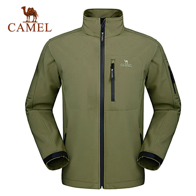 Camel Soft Shell Jackets men soft shell jacket waterproof ...