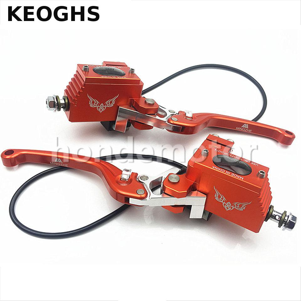 KEOGHS Motorcycle Brake Master Cylinder Hydraulic All Aluminum Cnc For Honda Yamaha Kawasaki Electric Motorcycle Scooter keoghs motorcycle high quality personality swingarm swinging arm rear fork all cnc for yamaha scooter bws cygnus honda modify