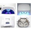 100-240V 60W UV Gel Nail Dryer Machine 110v-220v Autotimer Sensor 60W CCFL UV LED Nail Lamp For Curing Nail Gel