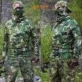 Kryptek Mandrake Длинным рукавом Тесная Сжатия Рубашка Сетки
