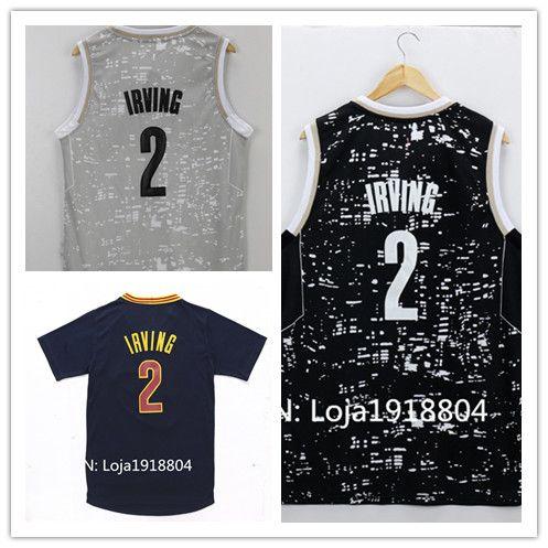 3e2740d28fb Sale Cheap Men s  2 Kyrie Irving Jersey Cheap New REV 30 Embroidery Logos 2  Irving Basketball Jerseys