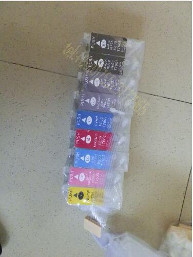 SC-P600 CISS with Permanent Chip--9 Cartridges(30ml), 9 Bottles(100ml) printer parts