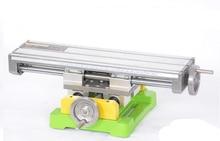 Многофункциональный мини стол тиски скамейке скамейке дрель фрезерный станок стент BG6350 1 шт.