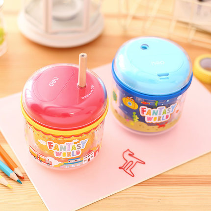 Deli 0707 Stationery Electric pencil sharpener for school supplies office pencil sharpeners knife Automatic for student kid Gift