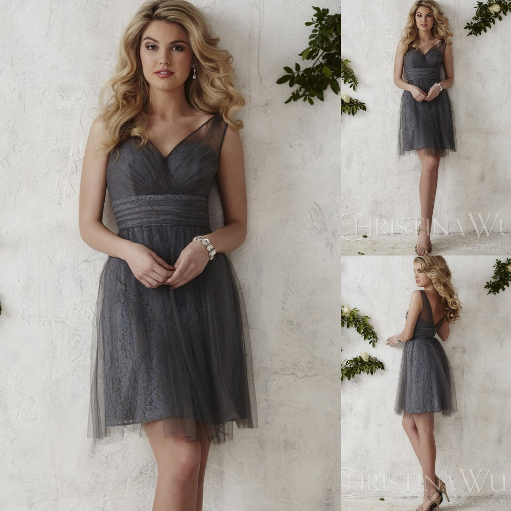Online Get Cheap Charcoal Bridesmaid Dresses -Aliexpress.com ...