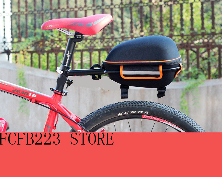 Mountain bike rear bag bike tail box  cycling Carry bag bicycle shell quick release rear seat Pannier Rack  bag roswheel mtb bike bag 10l full waterproof bicycle saddle bag mountain bike rear seat bag cycling tail bag bicycle accessories