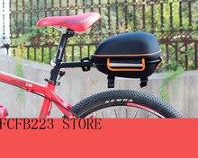 Mountain bike rear bag bike tail box cycling Carry bag bicycle shell quick release rear seat Pannier Rack bag