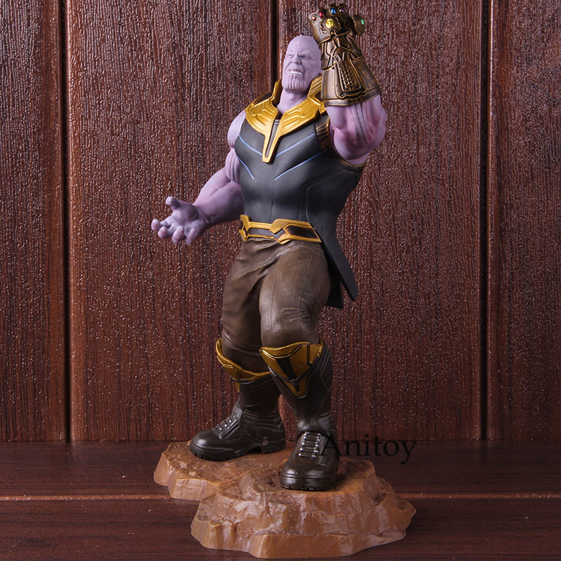 Lensple Thanos Artfx Statue  Endgame Figure Collectible Model Toy For Gift