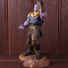 Lensple Thanos Thanos Endgame Artfx Estátua Figura Collectible Toy Modelo Para O Presente(China)