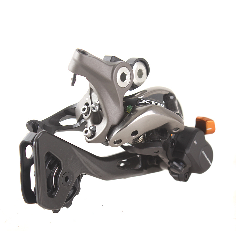 SHIMANO X.T.R RD M9000 Rear Derailleurs Shadow + / Locking System MTB Bike Accessory Mountain Bicycle Parts for 11S Speed shimano x t r sl m9000 thumb shifter left & right mtb mountain bike derailleurs 11s 22s 33s speed bicycle transmission