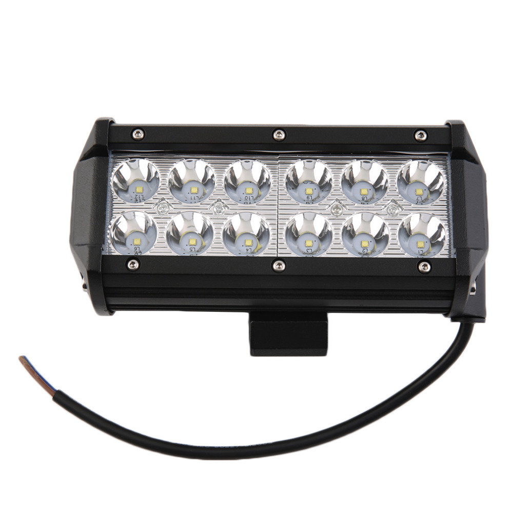 10-30V Waterproof 7 Inches 36W Off Road Light Flood LED Offroad Driving Interior Light For Auto Car SUV Truck Boat 6000K