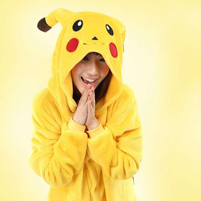 New Japan Anime Pokemon Pikachu Animal Costume Animal Pajamas Unisex Onesies Cosplay For Halloween Carnival Christmas Party