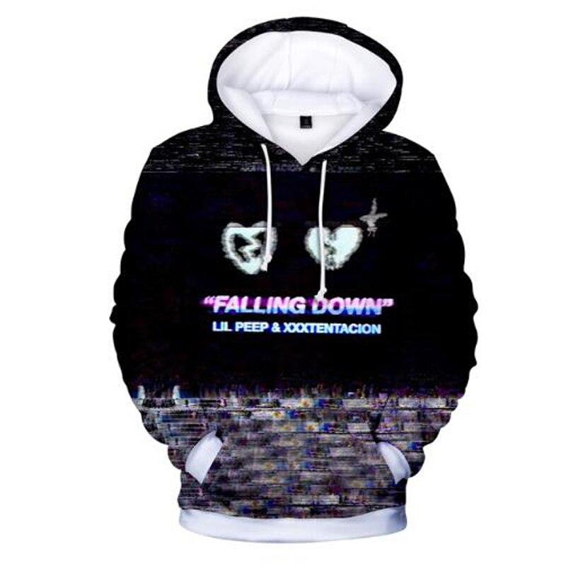Lil Peep Sweatshirt Mens Womens Casual Pullover Loose Hoodie Printing Jacket New