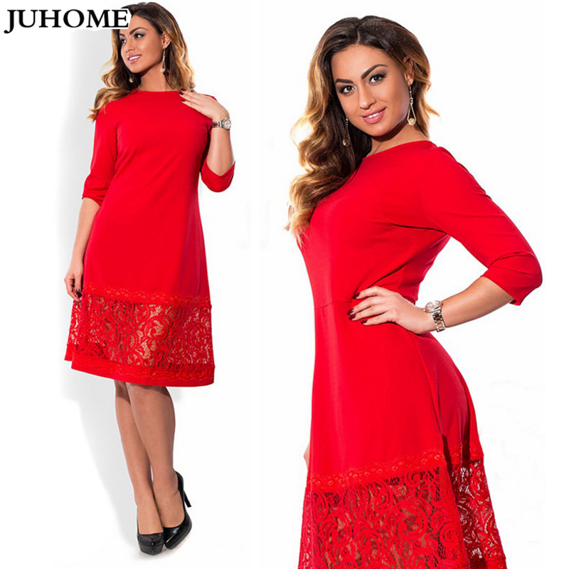 high quality women fashion 2018 new autumn dress 5xl 6xl large size vintage  retro dress For Fat robe femme lady bodycon clothes-in Dresses from Women s  ... 2e684e288da2