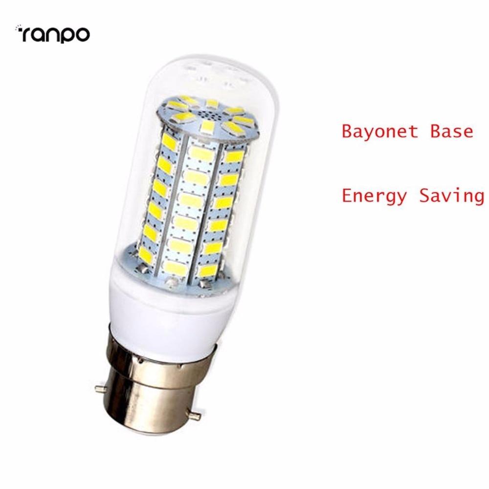 10 pcs/lots B22 Bayonet 5730 SMD LED Corn Bulb 6W 7W 9W 12W 15W Lights Energy Saving Warm Cold White yst x 9 9x20 5x112 et56 d66 6 w b