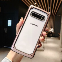 Shockproof Armor Phone Case For Samsung Galaxy S10 5G S10 Plus A50 A30 A70 Note 10 Pro 9 S9 S8 A7 A9 2018 Silicone Clear Case shockproof armor case for samsung galaxy note 10 pro s10 5g s10 plus a30 a50 a60 a70 leather silicone case s9 s8 note 9 cases