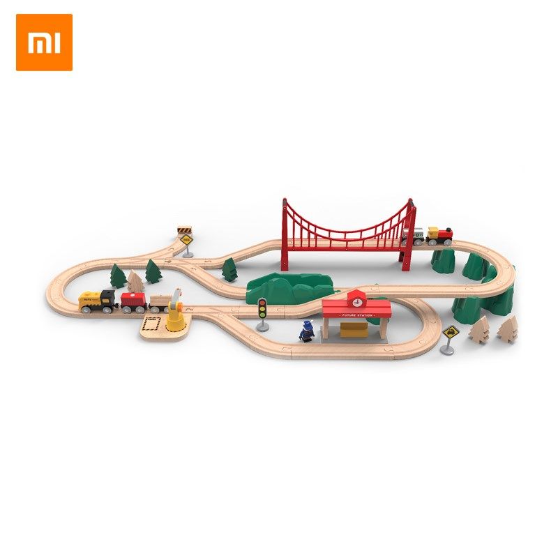 Smart Remote Control Consumer Electronics New Xiaomi Mijia Racing Track Toy Universal Accessories Educational Rail Car Toy Racing Tracks Toys For Children Gifts Modern Techniques