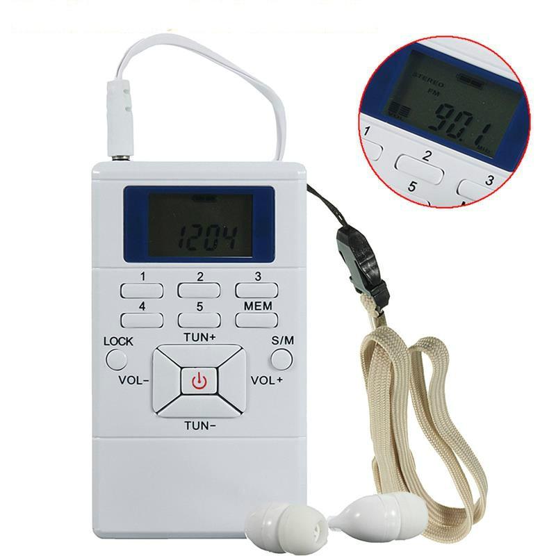 Modestil Hrd-102 Beste Verkäufer Tragbare Mini Led-bildschirm Fm Radio Receiver Digital Signal Verarbeitung Von Frequenz Modulation Mit Kopfhörer ZuverläSsige Leistung Radio