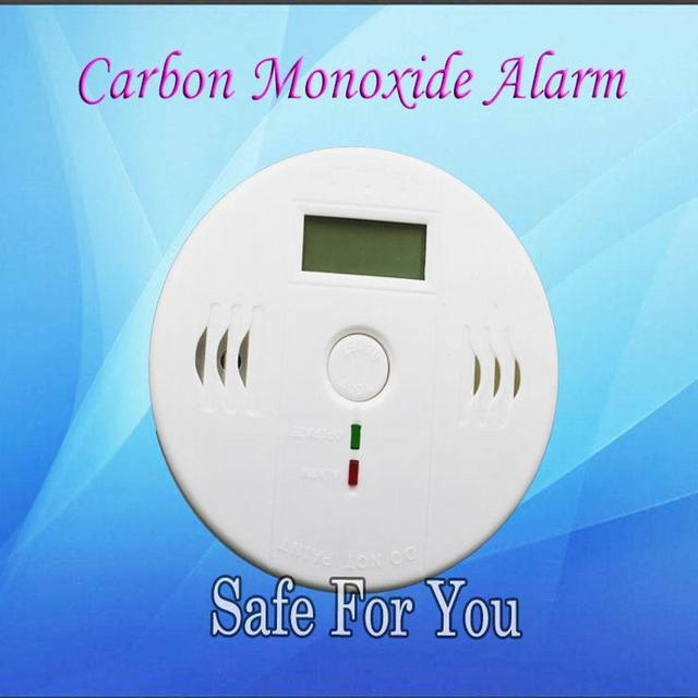Free shipping High quality Independent alarm system NEW Carbon Monoxide Detector alarm for Wireless Home security alarm system