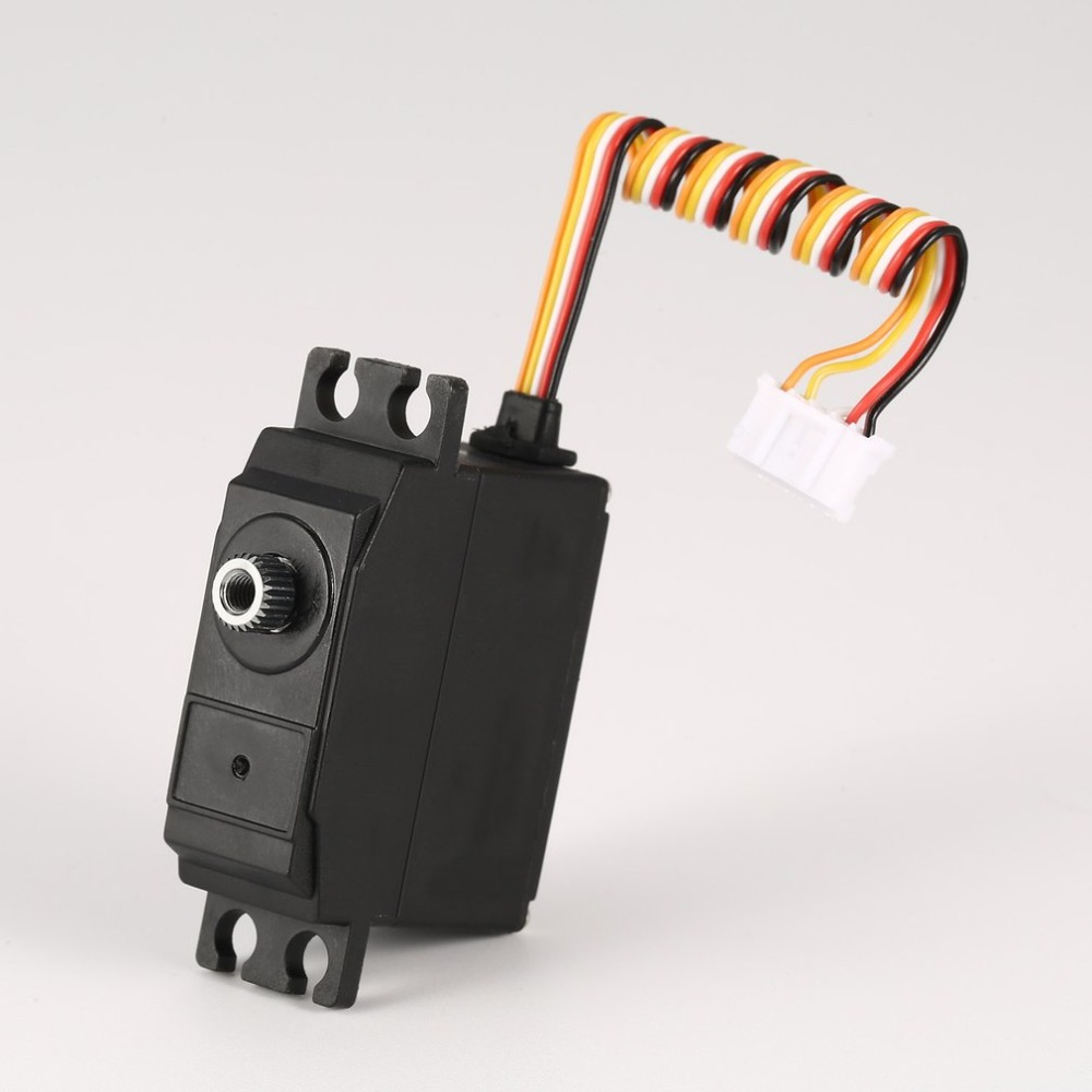 25g Metal Gear Servo 4.8-6V Upgraded for 1/12 Wltoys 12428 12423 RC Car Truck Steering Part Accessories